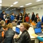 Drukke Open Dag bij het Dalton Lyceum in Barendrecht