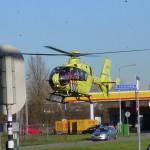 Traumahelikopter opgeroepen voor aanrijding aan de Donk / Dierensteinweg in Barendrecht