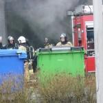 Brand bij de Bezorg Beer op bedrijventerrein Bijdorp-West (Barendrecht)