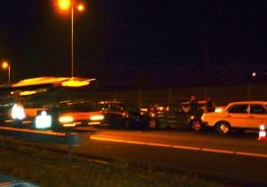 Vertraging op snelwegen rond Barendrecht door aanrijding A29 (Barendrecht)