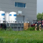 Stikstof installatie aan de Bergen wil ook even afblazen door de warmte
