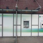 Pinautomaat ABN Amro aan de Henry Dunantlaan gepoogd open te breken
