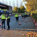 Drugs en pistool aangetroffen bij grote politiecontrole A15