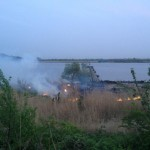 Rietbrand van 300m² aan de Achterzeedijk in Barendrecht