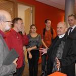 Burgemeester Louny bezoekt het Calvijn Groene Hart in Barendrecht