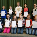 Geslaagden voor harmonie en fanfare examen bij Harmonievereniging Barendrecht