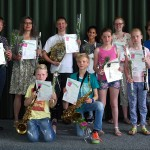18 diploma's uitgereikt bij Harmonievereniging Barendrecht