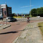 Efteling rotonde, 1e Barendrechtseweg, Barendrecht (Foto: GroenLinks)