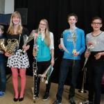 Willeke Smit als hoogste geëindigd op het Solisten concours, ToBe Baerne Barendrecht
