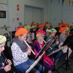 Sinterklaasrepetitie en kerstpresentatie door jongste jeugd Harmonievereniging
