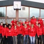 Roparun schenkt €16.000,- aan De Elf Ranken dankzij Energie Team (CAV Energie, Barendrecht)