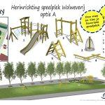 Stemmen voor nieuwe speeltoestellen aan de Punter, Wolweverij en Zandmeer