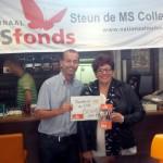 Tennis Vereniging Barendrecht steunt goede doel MS Nederland