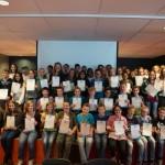 Extra diploma's op het Dalton Lyceum in Barendrecht