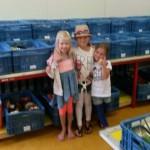 Vriendinnen loomen voor de Voedselbank Barendrecht