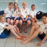 ZPB Minioren actief op Regio West Zwemkampioenschap