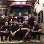 Brandweer Barendrecht pakt 1e plaats bij brandweerwedstrijden (Eilandenwedstrijd)