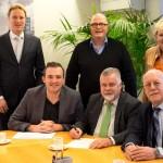 Oprichtingsakte Culturele Alliantie Barendrecht officieel getekend