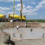 Werkzaamheden bouw windturbine (windmolen)
