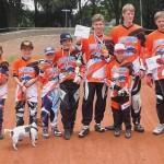 Barendrechtse BMX-ers bij Open Zuid Hollands kampioenschap (Rijswijk)