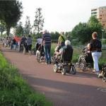 Loop mee met de Laurens Rolstoel Avondvierdaagse in Barendrecht (Carnisselande)
