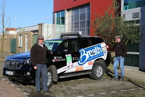 7.000km in 7 dagen: Team Digisource richting de poolcirkel