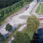 Nieuwe rotonde Henry Dunantlaan begint vorm te krijgen