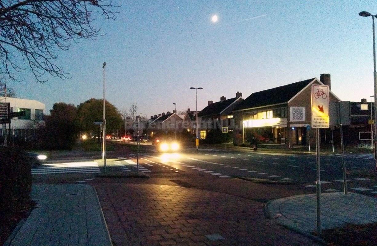 grote storing van straatverlichting in en rond het centrum van barendrecht