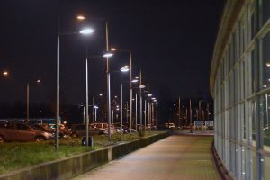Stationstunnel dek, station Barendrecht (nacht)