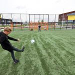 Cruyff Court op Campus Lagewei in Barendrecht