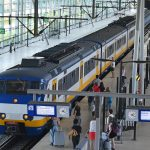 Trein (Sprinter) op Station Barendrecht