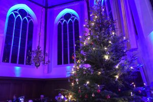 Kerstboom in de Dorpskerk Barendrecht