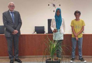 Iglaas Adnaan (12) nieuwe kinderburgemeester van Barendrecht