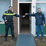 Pop-up politiebureau aan de Waalstraat in Barendrecht