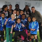 Meidenteam Barendrecht wint Ladies Streetsoccer Tournament in Rotterdam