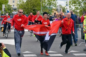 Foto's + video: Roparun doorkomst Barendrecht 2016
