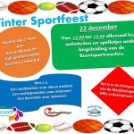 22 dec: Winter Sportfeest in Sporthal de Driesprong